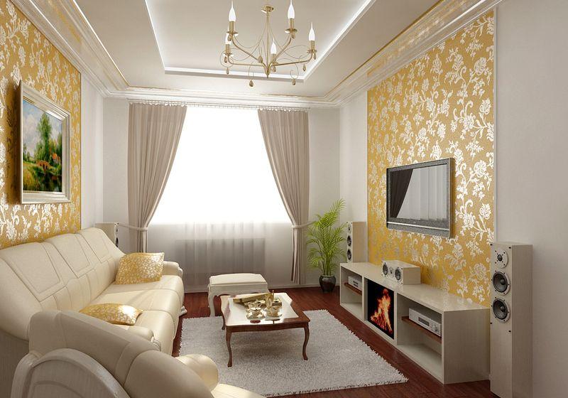 Ремонт зала дизайн квартиры